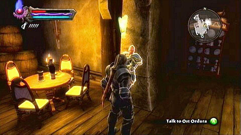 The man in the tavern M1(8) is Ost Ordura - a member of a group of mercenaries known as Warsworn - Odarath I - p. 2 - Side missions - Kingdoms of Amalur: Reckoning - Game Guide and Walkthrough