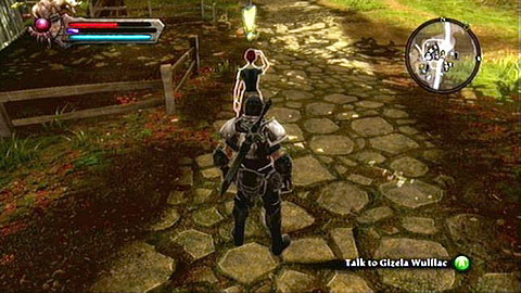 Return to Horthart after completing all the missions to meet a woman named Gizela Wulflac M1(14) - Odarath I - p. 2 - Side missions - Kingdoms of Amalur: Reckoning - Game Guide and Walkthrough