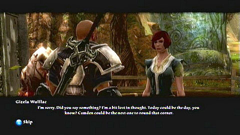 She will ask you to gain information regarding her husband, who's currently serving in the army - Odarath I - p. 2 - Side missions - Kingdoms of Amalur: Reckoning - Game Guide and Walkthrough