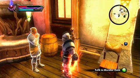 In order to begin the mission, search for a man named Murdoc Hain in Didenhil M3(3) - Glendara | Side missions - Side missions - Kingdoms of Amalur: Reckoning Game Guide & Walkthrough