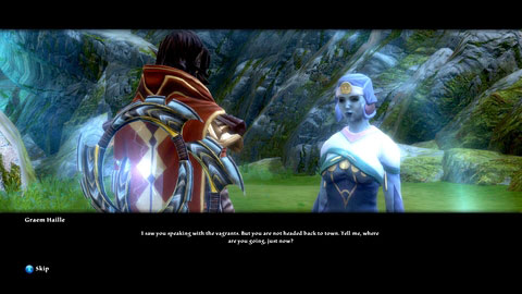 Before heading there, you will once again meet the priestess - Galafor/Acatha - p.2 - Side missions - Kingdoms of Amalur: Reckoning - Game Guide and Walkthrough