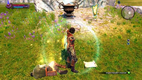 In the southern part of Galafor you will find the corpse of a man and his journal lying beside M7(9) - Galafor/Acatha - p.2 - Side missions - Kingdoms of Amalur: Reckoning - Game Guide and Walkthrough