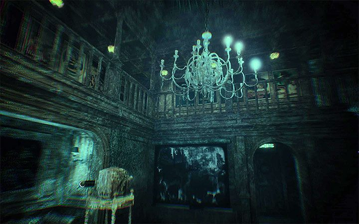 At the end of the fourth act, youll have a little more linear exploration to do - Area with cannons | Layers of Fear 2 walkthrough - Act 4 - Breathe - Layers of Fear 2 Guide