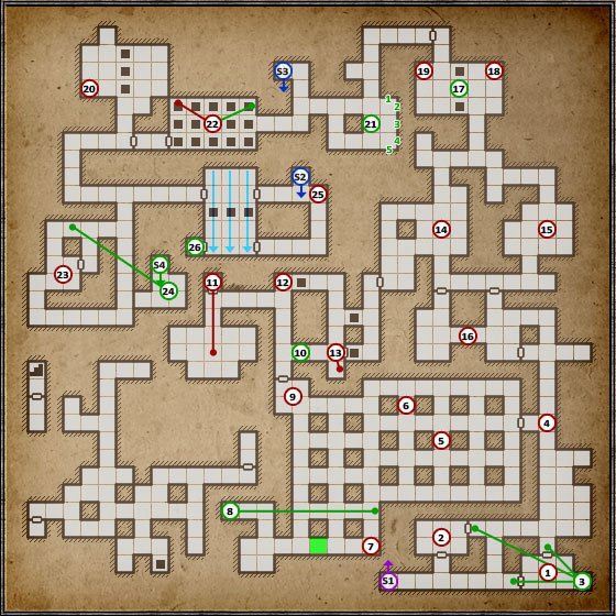 This level is a walk in the park compared to the previous one - Level 7: Ancient Chambers - Walkthrough - Legend of Grimrock - Game Guide and Walkthrough
