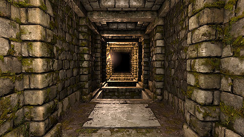 First of all save your game and prepare a throwing weapon or one to shoot with, as it will be necessary here - Level 4: Archives - Walkthrough - Legend of Grimrock - Game Guide and Walkthrough