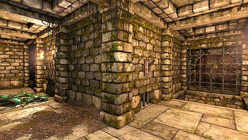 Now, that you have opened the secret tunnel, inside of it you should find a lever which will open the Iron Door found nearby the room with the moving portals - Level 3: Pillars of Light - Walkthrough - Legend of Grimrock - Game Guide and Walkthrough