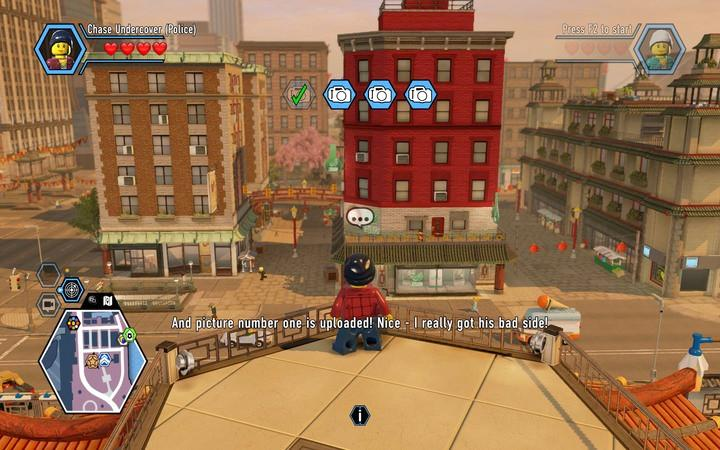 Eavesdropping On The Gang Walkthrough Lego City Undercover Game Guide Gamepressure Com