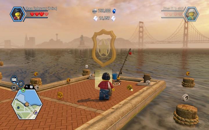 Apollo Island | Walkthrough - LEGO City: Undercover Game Guide ...