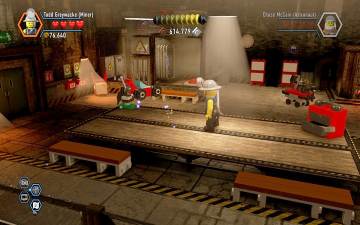 You can enter the special room only with a fireman disguise - Secrets in the prison | Chapter 3 - Chapter 3 - LEGO City: Undercover Game Guide