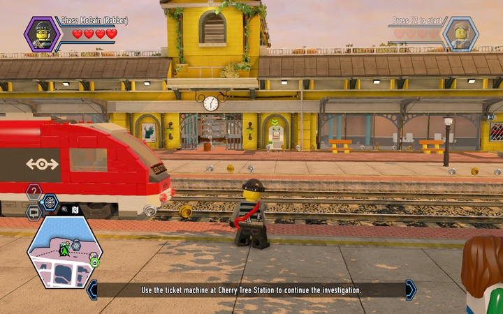 Trains are the fastest mode of transport, however the number of stations is limited - Transport - Tips - LEGO City: Undercover Game Guide