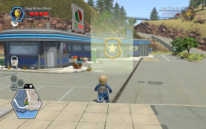 The beginning of the task | Chapter 2 - LEGO City: Undercover Game ...