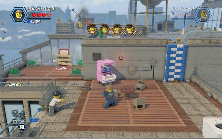 The TV station building | Chapter 2 - LEGO City: Undercover Game ...