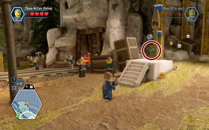 The Bluebell Mine | Chapter 3 - LEGO City: Undercover Game Guide ...