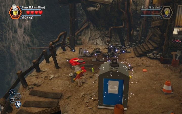The Bluebell Mine | Chapter 3 - LEGO City: Undercover Game Guide