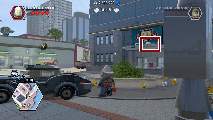 Southwest area | Maps and secrets - LEGO City: Undercover Game Guide