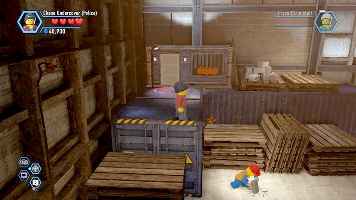 The first brick in the shed - Construction site | Chapter 12 | Walkthrough - Chapter 12 - LEGO City: Undercover Game Guide