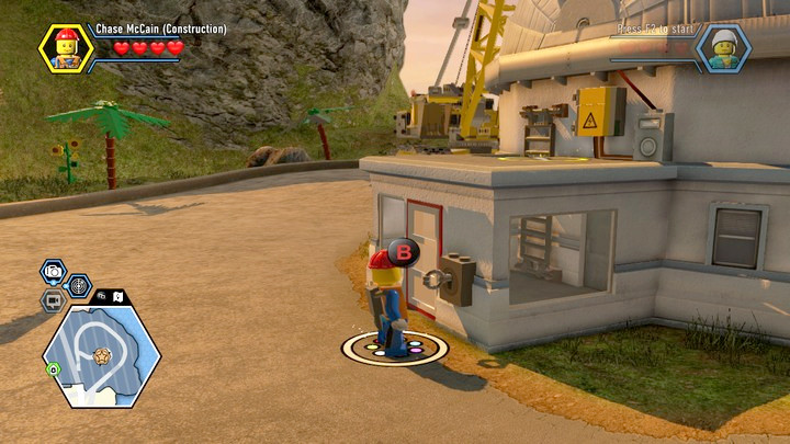 Defeat the opponents and take the key from them - Construction site | Chapter 12 | Walkthrough - Chapter 12 - LEGO City: Undercover Game Guide