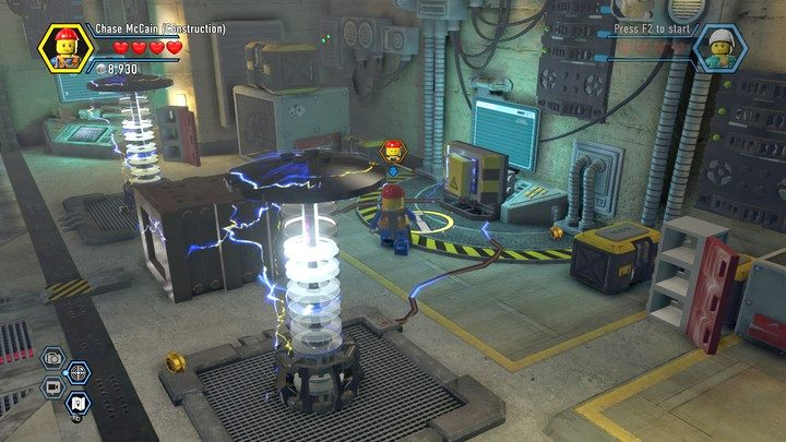 Rex S Hq Chapter 13 Walkthrough Lego City Undercover Game Guide Gamepressure Com