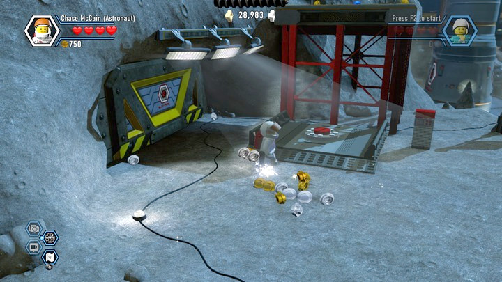 Moon Landing Chapter 14 And 15 Walkthrough Lego City Undercover Game Guide Gamepressure Com