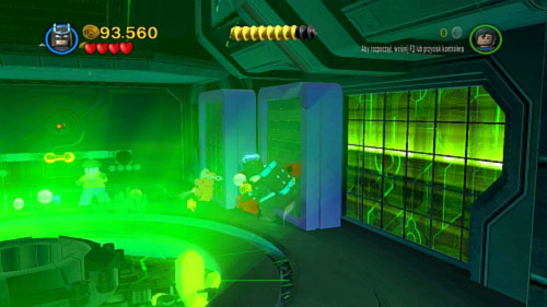 The next area is filled with kryptonite - Destination Metropolis | Walkthrough - Walkthrough - LEGO Batman 2: DC Super Heroes Game Guide & Walkthrough
