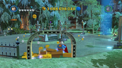 To start bonus level you have to pick up 175 gold bricks and unlock Clark Kent - Bonus level - Walkthrough - LEGO Batman 2: DC Super Heroes - Game Guide and Walkthrough