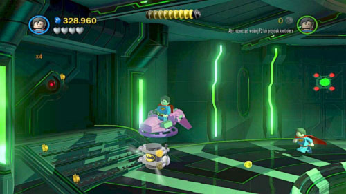 #08 - In this same location, destroy all objects near right wall, build flying vehicle and fly to the doors on the left - Destination Metropolis | Minikits - Minikits - LEGO Batman 2: DC Super Heroes Game Guide & Walkthrough