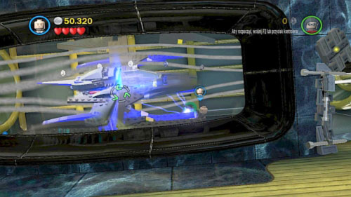 #05 - In the same location - destroy black bricks in right top corner and extinguish the vehicle in the room on the left - Tower Defiance - Minikits - LEGO Batman 2: DC Super Heroes - Game Guide and Walkthrough