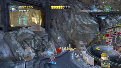 Unwelcome Guests - in the location with dinosaur - Citizen in peril - Minikits - LEGO Batman 2: DC Super Heroes - Game Guide and Walkthrough