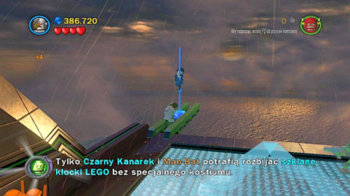 Destination Metropolis -when you get to the air look at left - Citizen in peril - Minikits - LEGO Batman 2: DC Super Heroes - Game Guide and Walkthrough