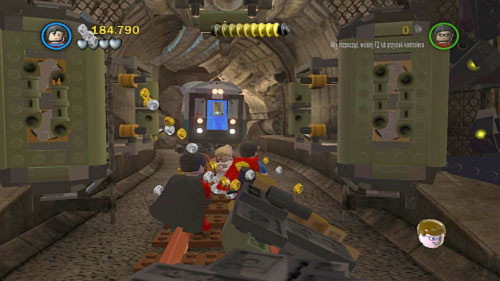 Underground Retreat - on the junction move to the tunnel on the left, destroy black bricks and pull the handle - Citizen in peril - Minikits - LEGO Batman 2: DC Super Heroes - Game Guide and Walkthrough