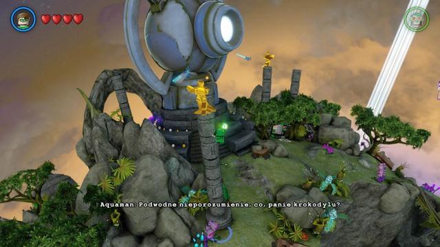 Lego batman 3 where is the character token detector / Monaco