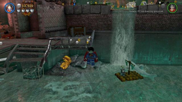 Minikits | Pursuers in the Sewers - secrets - LEGO Batman 3: Beyond