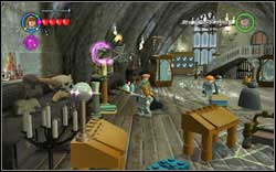 Station Guard: Use (WL) on the four torches found in the classroom - Bonuses - Hogwarts - Walkthrough - LEGO Harry Potter: Years 1-4 - Game Guide and Walkthrough