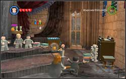 Professor Trelawney: In the corner of the classroom you will find a safe - use a character with a key to open it - Bonuses - Hogwarts - Walkthrough - LEGO Harry Potter: Years 1-4 - Game Guide and Walkthrough
