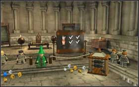 You will learn the Transfiguration spell - change the dummies into frogs twice #1 - Bonuses - Hogwarts - Walkthrough - LEGO Harry Potter: Years 1-4 - Game Guide and Walkthrough