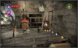 Madam Rosmerta: (Time Travel) On the right you will find a wardrobe - first use (RD) and then a character with a book - Bonuses - Hogwarts - Walkthrough - LEGO Harry Potter: Years 1-4 - Game Guide and Walkthrough
