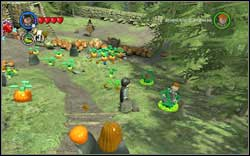 On the right, by the path, you will find the student trapped inside the Devil's Snare - Bonuses - Hogwarts - Walkthrough - LEGO Harry Potter: Years 1-4 - Game Guide and Walkthrough