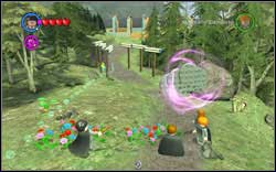 Fast Dig: By the path there's some round bricks - Bonuses - Hogwarts - Walkthrough - LEGO Harry Potter: Years 1-4 - Game Guide and Walkthrough