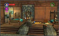 Inside the room, you will find two out of five gold books - use magic on them - Bonuses - Hogwarts - Walkthrough - LEGO Harry Potter: Years 1-4 - Game Guide and Walkthrough