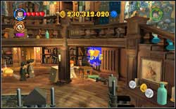 Inside the room, you will find three out of five gold books - use magic on them - Bonuses - Hogwarts - Walkthrough - LEGO Harry Potter: Years 1-4 - Game Guide and Walkthrough