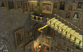 Use magic on the painting with a player holding a ball #1 - Bonuses - Hogwarts - Walkthrough - LEGO Harry Potter: Years 1-4 - Game Guide and Walkthrough