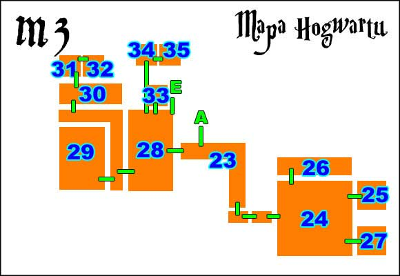 23 - Hogwarts Map - Walkthrough - LEGO Harry Potter: Years 1-4 - Game Guide and Walkthrough