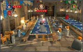 Follow the ghost to the Great Hall (M1 - Walkthrough - Year 2 Part 1 - Walkthrough - LEGO Harry Potter: Years 1-4 - Game Guide and Walkthrough