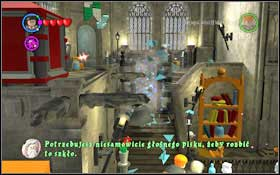 Follow the ghost to the Lessons Hallway (M4 - Walkthrough - Year 2 Part 1 - Walkthrough - LEGO Harry Potter: Years 1-4 - Game Guide and Walkthrough