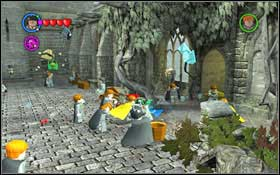 Leave the class and head to the Fountain Courtyard (M3 - Walkthrough - Year 2 Part 1 - Walkthrough - LEGO Harry Potter: Years 1-4 - Game Guide and Walkthrough