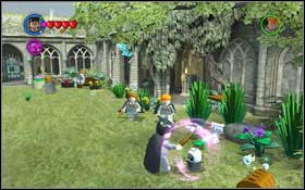 You will begin at the Grassy Courtyard (M3 - Walkthrough - Year 2 Part 1 - Walkthrough - LEGO Harry Potter: Years 1-4 - Game Guide and Walkthrough