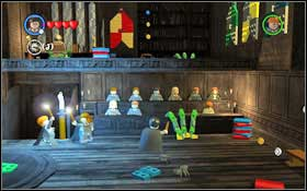 You will begin in the Entrance Hall (M1 - Walkthrough - Year 1 Part 1 - Walkthrough - LEGO Harry Potter: Years 1-4 - Game Guide and Walkthrough