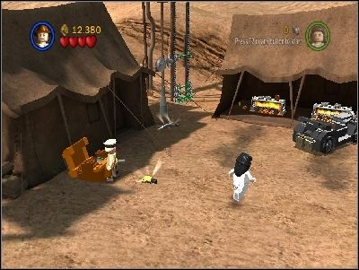 Defeat your enemies and destroy everything on your left side - Chapter 5 - Pursuing the Ark - Riders of the Lost Ark - LEGO Indiana Jones: The Original Adventures - Game Guide and Walkthrough