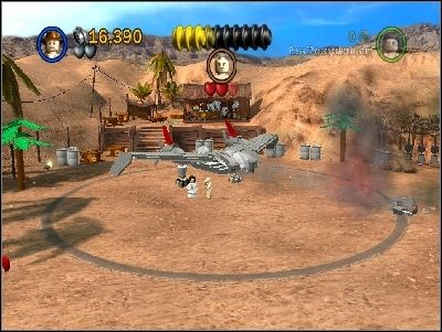 You will notice, that a truck with more enemies will arrive - Chapter 5 - Pursuing the Ark - Riders of the Lost Ark - LEGO Indiana Jones: The Original Adventures - Game Guide and Walkthrough