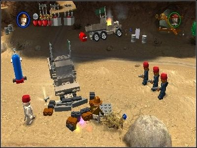 Defeat your enemies - Chapter 5 - Desert Ambush - The Last Crusade - LEGO Indiana Jones: The Original Adventures - Game Guide and Walkthrough